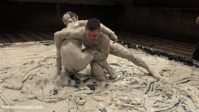 Photo number 12 from Dean Tucker vs James Hamilton<br />The Mud Match shot for Naked Kombat on Kink.com. Featuring Dean Tucker and James Hamilton in hardcore BDSM & Fetish porn.