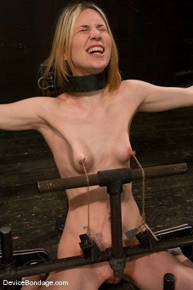Photo number 10 from Calico <br> Impaled on an electrified <br>dildo and made to orgasm. shot for Device Bondage on Kink.com. Featuring Calico in hardcore BDSM & Fetish porn.
