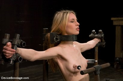 Photo number 5 from Calico <br> Impaled on an electrified <br>dildo and made to orgasm. shot for Device Bondage on Kink.com. Featuring Calico in hardcore BDSM & Fetish porn.