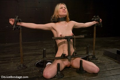 Photo number 9 from Calico <br> Impaled on an electrified <br>dildo and made to orgasm. shot for Device Bondage on Kink.com. Featuring Calico in hardcore BDSM & Fetish porn.