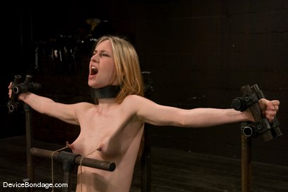 Photo number 11 from Calico <br> Impaled on an electrified <br>dildo and made to orgasm. shot for Device Bondage on Kink.com. Featuring Calico in hardcore BDSM & Fetish porn.