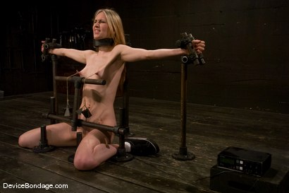 Photo number 14 from Calico <br> Impaled on an electrified <br>dildo and made to orgasm. shot for Device Bondage on Kink.com. Featuring Calico in hardcore BDSM & Fetish porn.