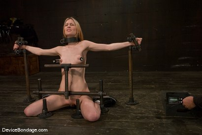 Photo number 7 from Calico <br> Impaled on an electrified <br>dildo and made to orgasm. shot for Device Bondage on Kink.com. Featuring Calico in hardcore BDSM & Fetish porn.