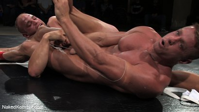 Photo number 7 from Patrick Rouge vs Tyler Saint   The Live Audience & Oil Match shot for Naked Kombat on Kink.com. Featuring Patrick Rouge and Tyler Saint in hardcore BDSM & Fetish porn.
