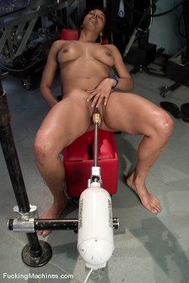 Photo number 4 from AMATEUR GIRL FRIDAYS <BR> local dancer - Jaxxa shot for Fucking Machines on Kink.com. Featuring Jaxxa Nova in hardcore BDSM & Fetish porn.