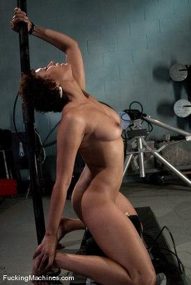 Photo number 8 from AMATEUR GIRL FRIDAYS <BR> local dancer - Jaxxa shot for Fucking Machines on Kink.com. Featuring Jaxxa Nova in hardcore BDSM & Fetish porn.