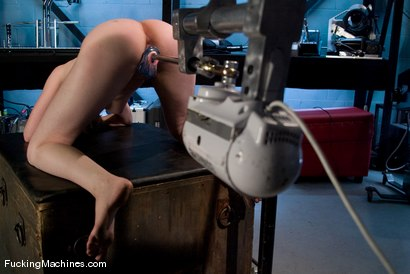 Photo number 7 from AMATEUR GIRL FRIDAYS - ASTRID shot for Fucking Machines on Kink.com. Featuring Astrid in hardcore BDSM & Fetish porn.