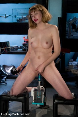 Photo number 10 from AMATEUR GIRL FRIDAYS - ASTRID shot for Fucking Machines on Kink.com. Featuring Astrid in hardcore BDSM & Fetish porn.