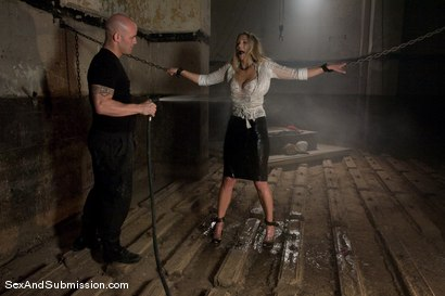 Photo number 1 from Jordan Kingsley shot for Sex And Submission on Kink.com. Featuring Derrick Pierce and Jordan Kingsley in hardcore BDSM & Fetish porn.