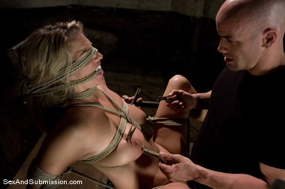 Photo number 14 from Jordan Kingsley shot for Sex And Submission on Kink.com. Featuring Derrick Pierce and Jordan Kingsley in hardcore BDSM & Fetish porn.