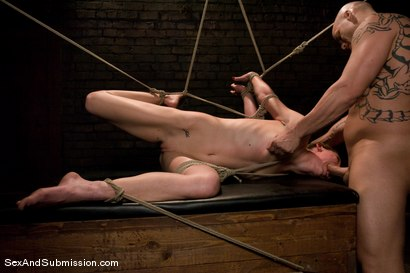 Photo number 13 from Delilah's First Time shot for Sex And Submission on Kink.com. Featuring Derrick Pierce and Delilah Knight in hardcore BDSM & Fetish porn.