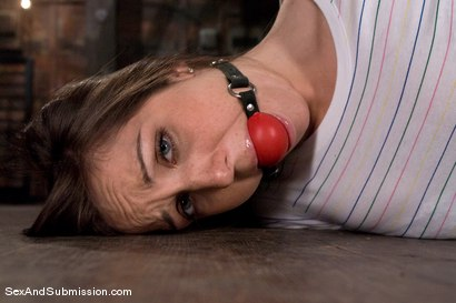 Photo number 2 from Freckles shot for Sex And Submission on Kink.com. Featuring Steve Holmes and Kiera King in hardcore BDSM & Fetish porn.