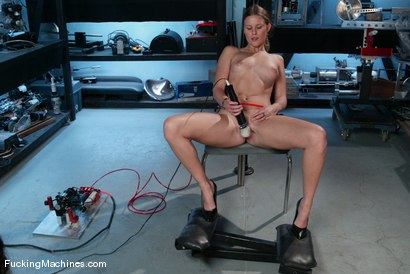Photo number 2 from AMATEUR GIRL FRIDAYS <BR> Alex shot for Fucking Machines on Kink.com. Featuring Alex Hussy in hardcore BDSM & Fetish porn.