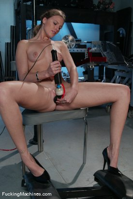 Photo number 5 from AMATEUR GIRL FRIDAYS <BR> Alex shot for Fucking Machines on Kink.com. Featuring Alex Hussy in hardcore BDSM & Fetish porn.