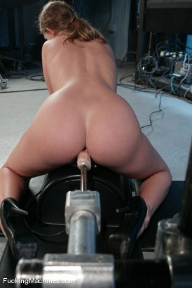 Photo number 11 from AMATEUR GIRL FRIDAYS <BR> Alex shot for Fucking Machines on Kink.com. Featuring Alex Hussy in hardcore BDSM & Fetish porn.