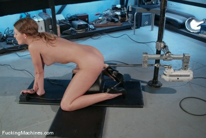 Photo number 10 from AMATEUR GIRL FRIDAYS <BR> Alex shot for Fucking Machines on Kink.com. Featuring Alex Hussy in hardcore BDSM & Fetish porn.