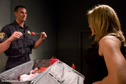 Photo number 1 from TsSeduction.com FEATURED CLASSIC: Carmen Cruz - secondary inspection shot for TS Seduction on Kink.com. Featuring Carmen Cruz and Rusty Stevens in hardcore BDSM & Fetish porn.