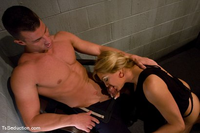 Photo number 2 from TsSeduction.com FEATURED CLASSIC: Carmen Cruz - secondary inspection shot for TS Seduction on Kink.com. Featuring Carmen Cruz and Rusty Stevens in hardcore BDSM & Fetish porn.