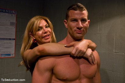 Photo number 15 from TsSeduction.com FEATURED CLASSIC: Carmen Cruz - secondary inspection shot for TS Seduction on Kink.com. Featuring Carmen Cruz and Rusty Stevens in hardcore BDSM & Fetish porn.