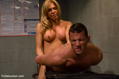 Photo number 9 from TsSeduction.com FEATURED CLASSIC: Carmen Cruz - secondary inspection shot for TS Seduction on Kink.com. Featuring Carmen Cruz and Rusty Stevens in hardcore BDSM & Fetish porn.