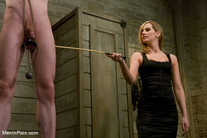 Photo number 3 from The Training of Kade, Day One shot for Men In Pain on Kink.com. Featuring Kade and Maitresse Madeline Marlowe in hardcore BDSM & Fetish porn.