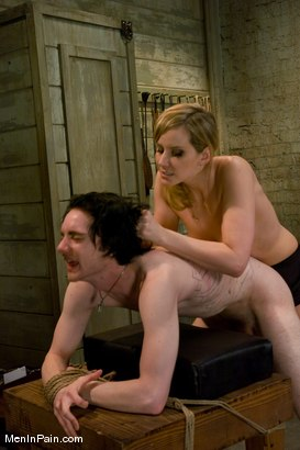Photo number 9 from The Training of Kade, Day One shot for Men In Pain on Kink.com. Featuring Kade and Maitresse Madeline Marlowe in hardcore BDSM & Fetish porn.
