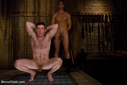 Photo number 9 from Training Begins for TheUpperFloor.com shot for Bound Gods on Kink.com. Featuring Rusty Stevens, Dean Tucker and Van Darkholme in hardcore BDSM & Fetish porn.