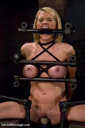 Photo number 1 from Krissy Lynn<br> Hot Californian blond, faces orgasm overload! shot for Device Bondage on Kink.com. Featuring Krissy Lynn in hardcore BDSM & Fetish porn.