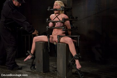 Photo number 13 from Krissy Lynn<br> Hot Californian blond, faces orgasm overload! shot for Device Bondage on Kink.com. Featuring Krissy Lynn in hardcore BDSM & Fetish porn.