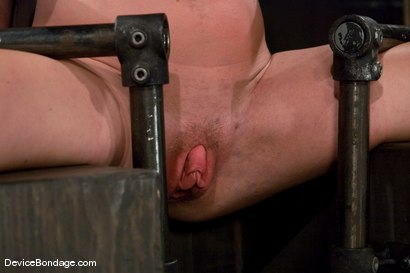 Photo number 15 from Krissy Lynn<br> Hot Californian blond, faces orgasm overload! shot for Device Bondage on Kink.com. Featuring Krissy Lynn in hardcore BDSM & Fetish porn.