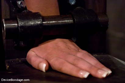 Photo number 5 from Krissy Lynn<br> Hot Californian blond, faces orgasm overload! shot for Device Bondage on Kink.com. Featuring Krissy Lynn in hardcore BDSM & Fetish porn.