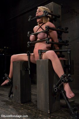 Photo number 9 from Krissy Lynn<br> Hot Californian blond, faces orgasm overload! shot for Device Bondage on Kink.com. Featuring Krissy Lynn in hardcore BDSM & Fetish porn.