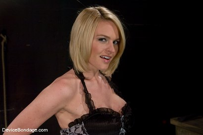 Photo number 2 from Krissy Lynn<br> Hot Californian blond, faces orgasm overload! shot for Device Bondage on Kink.com. Featuring Krissy Lynn in hardcore BDSM & Fetish porn.