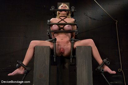 Photo number 10 from Krissy Lynn<br> Hot Californian blond, faces orgasm overload! shot for Device Bondage on Kink.com. Featuring Krissy Lynn in hardcore BDSM & Fetish porn.