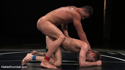 Photo number 14 from Shane Erickson vs Rusty Stevens<br />The Water Match shot for Naked Kombat on Kink.com. Featuring Rusty Stevens and Shane Erickson in hardcore BDSM & Fetish porn.