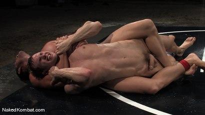 Photo number 9 from Shane Erickson vs Rusty Stevens<br />The Water Match shot for Naked Kombat on Kink.com. Featuring Rusty Stevens and Shane Erickson in hardcore BDSM & Fetish porn.