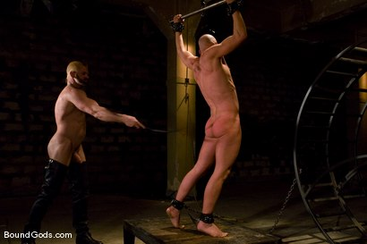 Photo number 10 from The Human Stain shot for Bound Gods on Kink.com. Featuring Tober Brandt and Chad Rock in hardcore BDSM & Fetish porn.