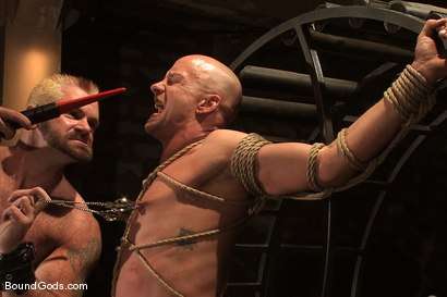 Photo number 9 from The Human Stain shot for Bound Gods on Kink.com. Featuring Tober Brandt and Chad Rock in hardcore BDSM & Fetish porn.
