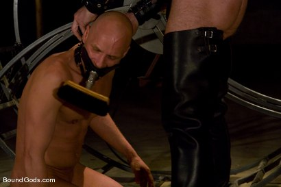 Photo number 1 from The Human Stain shot for Bound Gods on Kink.com. Featuring Tober Brandt and Chad Rock in hardcore BDSM & Fetish porn.