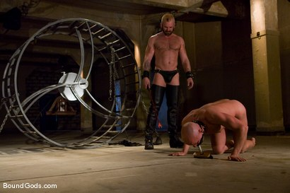 Photo number 2 from The Human Stain shot for Bound Gods on Kink.com. Featuring Tober Brandt and Chad Rock in hardcore BDSM & Fetish porn.