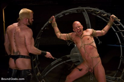 Photo number 5 from The Human Stain shot for Bound Gods on Kink.com. Featuring Tober Brandt and Chad Rock in hardcore BDSM & Fetish porn.