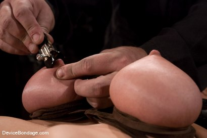 Photo number 5 from Princess Donna<br>World famous mistress bound<br>and begging to cum. shot for Device Bondage on Kink.com. Featuring Princess Donna Dolore in hardcore BDSM & Fetish porn.
