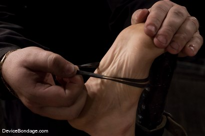 Photo number 8 from Princess Donna<br>World famous mistress bound<br>and begging to cum. shot for Device Bondage on Kink.com. Featuring Princess Donna Dolore in hardcore BDSM & Fetish porn.