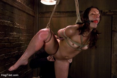 Photo number 12 from Dirty fucking girl.... TEN is pushed beyond her clitoral limits shot for Hogtied on Kink.com. Featuring Ten in hardcore BDSM & Fetish porn.