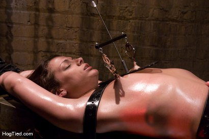 Photo number 5 from Dirty fucking girl.... TEN is pushed beyond her clitoral limits shot for Hogtied on Kink.com. Featuring Ten in hardcore BDSM & Fetish porn.