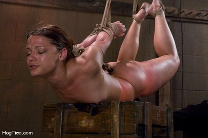 Photo number 9 from Dirty fucking girl.... TEN is pushed beyond her clitoral limits shot for Hogtied on Kink.com. Featuring Ten in hardcore BDSM & Fetish porn.