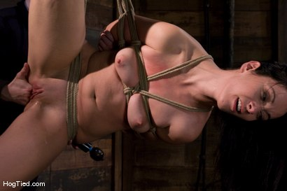 Photo number 13 from January Seraph: HOT Domme submits to my rope & fucking shot for Hogtied on Kink.com. Featuring January Seraph in hardcore BDSM & Fetish porn.