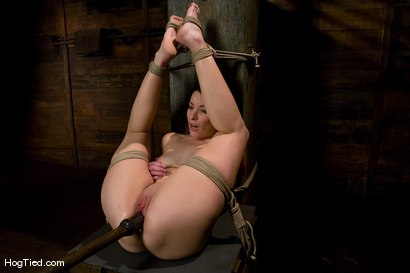 Photo number 6 from January Seraph: HOT Domme submits to my rope & fucking shot for Hogtied on Kink.com. Featuring January Seraph in hardcore BDSM & Fetish porn.