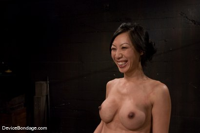 Photo number 15 from Tia Ling<br>Impaled in a one person prison. shot for Device Bondage on Kink.com. Featuring Tia Ling in hardcore BDSM & Fetish porn.