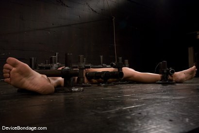 Photo number 3 from Tia Ling<br>Impaled in a one person prison. shot for Device Bondage on Kink.com. Featuring Tia Ling in hardcore BDSM & Fetish porn.
